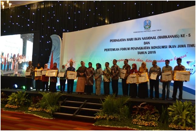Pemberian Penghargaan Pembangunan Kelautan dan Perikanan