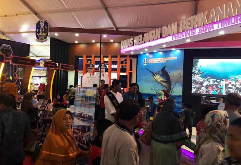 Stand Dinas Kelautan dan Perikanan Provinsi Jawa Timur